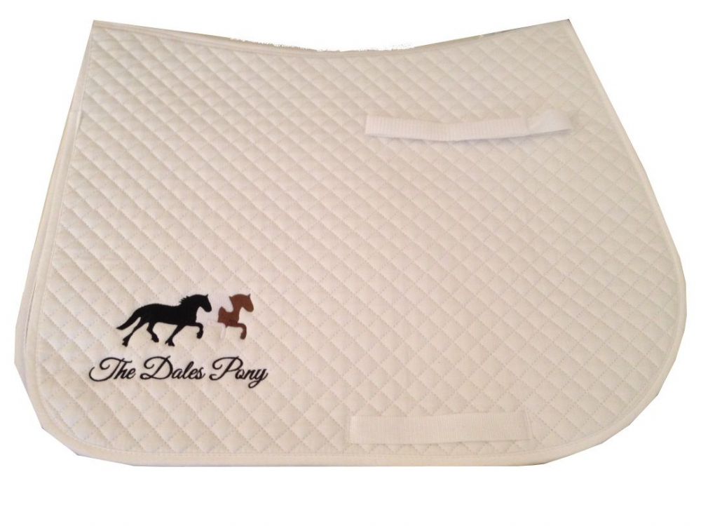 Dales pony embroidered Saddlecloths